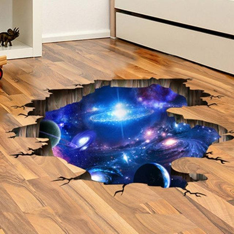 Image of 3D Space Sticker - IGOGES