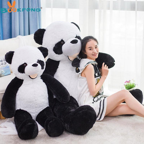 Image of Giant Empty Panda Skin Plush - IGOGES