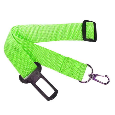 Image of Adjustable Dog Pet Car Safety Seat Belt Restraint Lead Travel Leash - IGOGES