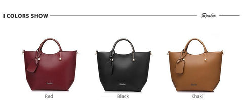 New And Elegant Fine Leather Handbag With Exclusive Design 😍 - IGOGES