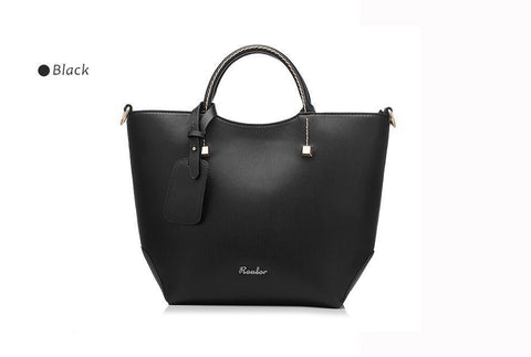 Image of New And Elegant Fine Leather Handbag With Exclusive Design 😍 - IGOGES