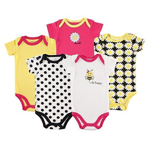 Luvable Friends Baby Cotton Bodysuits - IGOGES