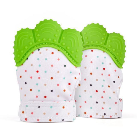 Image of Baby Pacifier Glove Teething Chewable - IGOGES