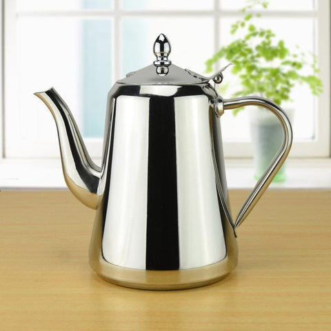 Image of Stainless Steel Cold Water Kettle Suitable For Induction Cooker
