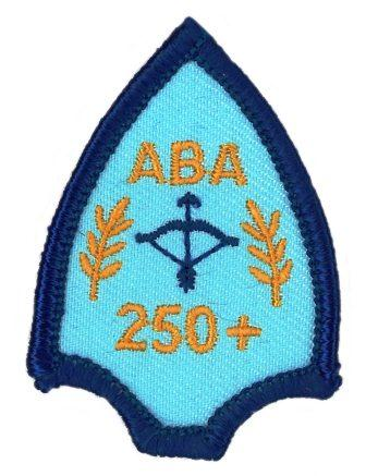 ABA Proficiency Badge 250+