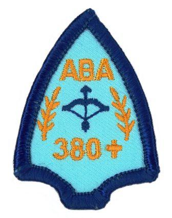 ABA Proficiency Badge 380+