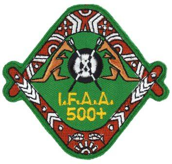 IFAA Proficiency Badge 500+