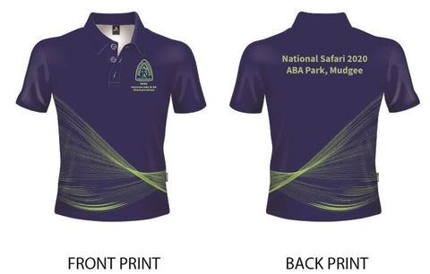 2020 Royal Blue National Safari Polo