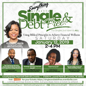 Single & Debt Free: Using Biblical Principles to Achieve Financial Wellness