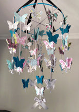 Damask Butterfly Mobile