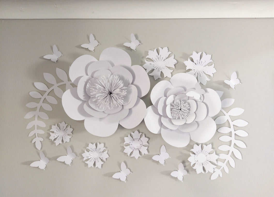 Flower Decor White