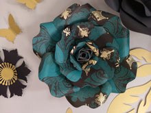 Flower Decor - Gold Accents