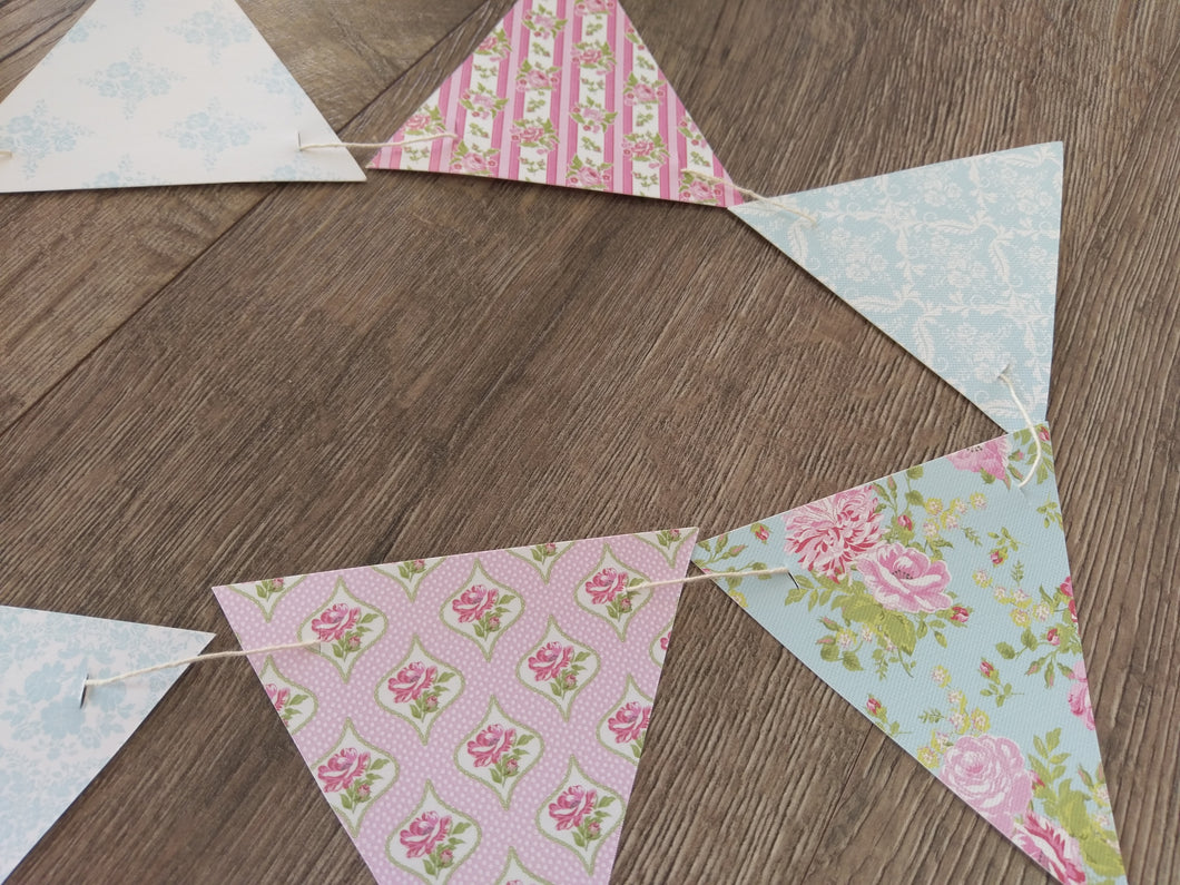 Floral Triangle Banner