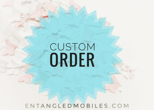 Custom order for Caitlin