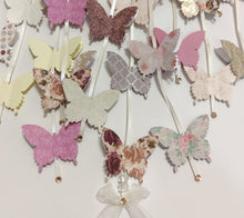 Vintage Butterfly Mobile