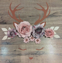 Deer Flower Decor