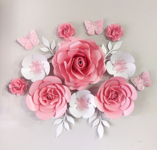 Crystal Flower Decor