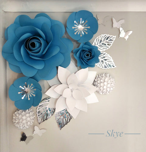 Skye Flower Decor