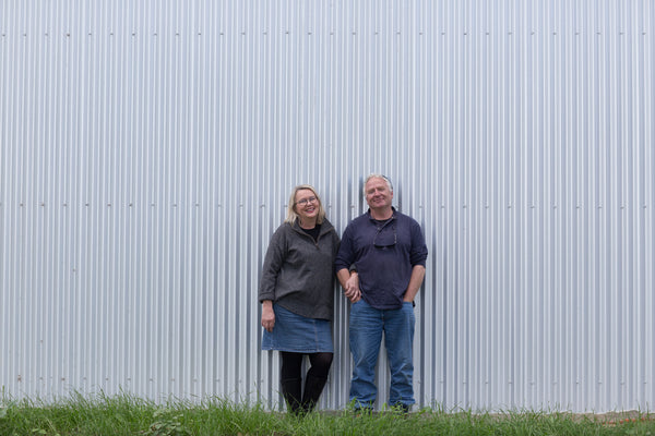 Inga Lidums and Dave Neyle of Lobethal Road wines in the Adelaide Hills