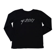 Signature Long Sleeve Tee Black