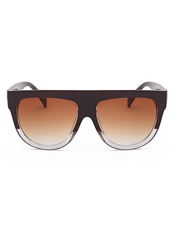 Two-Tone Gradient Sunglasses