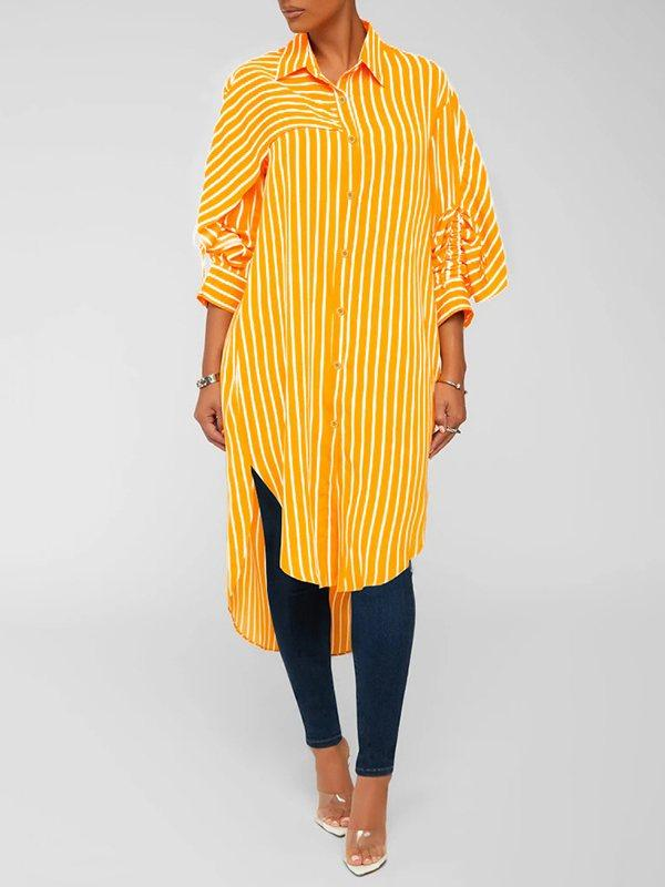Stripe Tunic Shirt