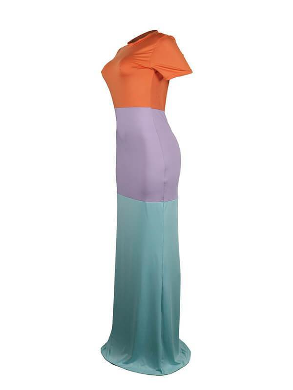 Three-Tone Mermaid Dress