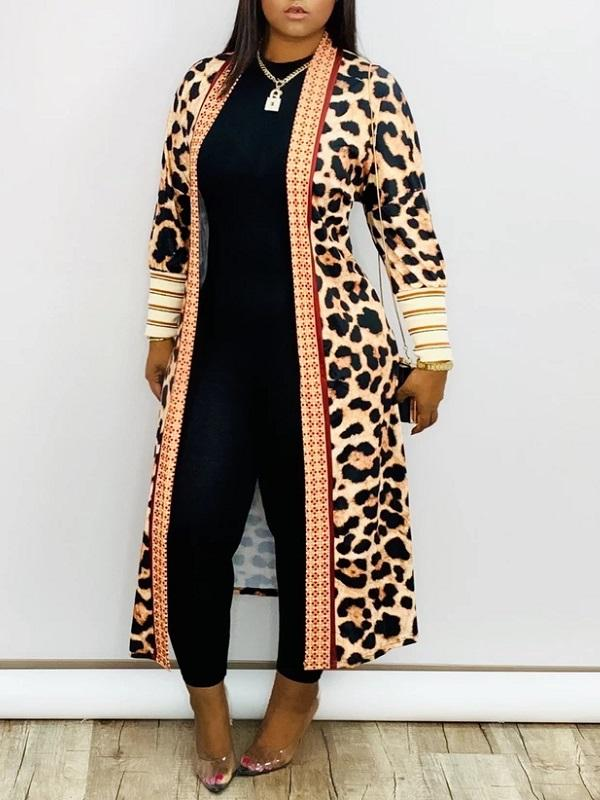 Print Bishop Sleeve Duster