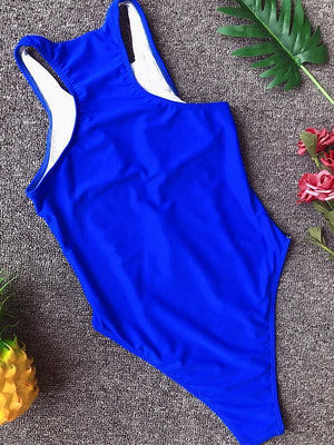 Zip-Front Mesh Combo One Piece