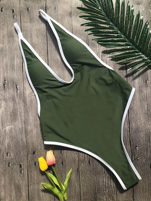 Piping Cami One Piece