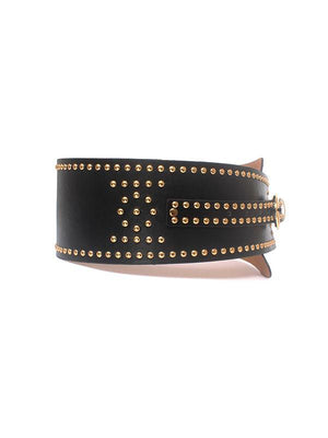 Rivet Studded Asymmetric Belt