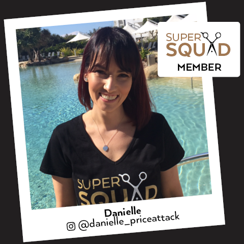 Price Attack Super Squad | SALON SUPER STAR, DANIELLE @danielle_priceattack