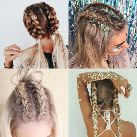 3 Super Easy Festival Hairstyles You Can Do In Your Tent Price