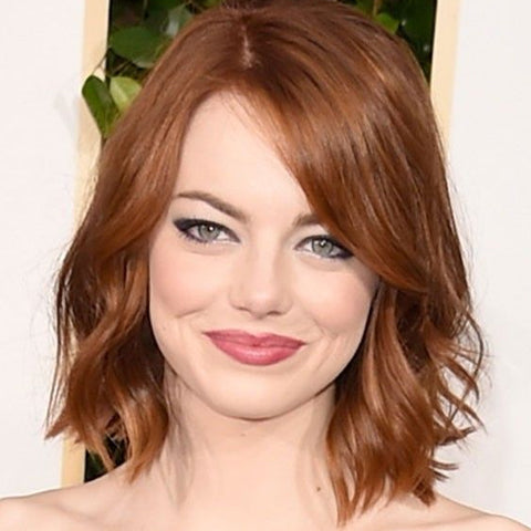Popular shades of red hair, Emma Stone | Price Attack