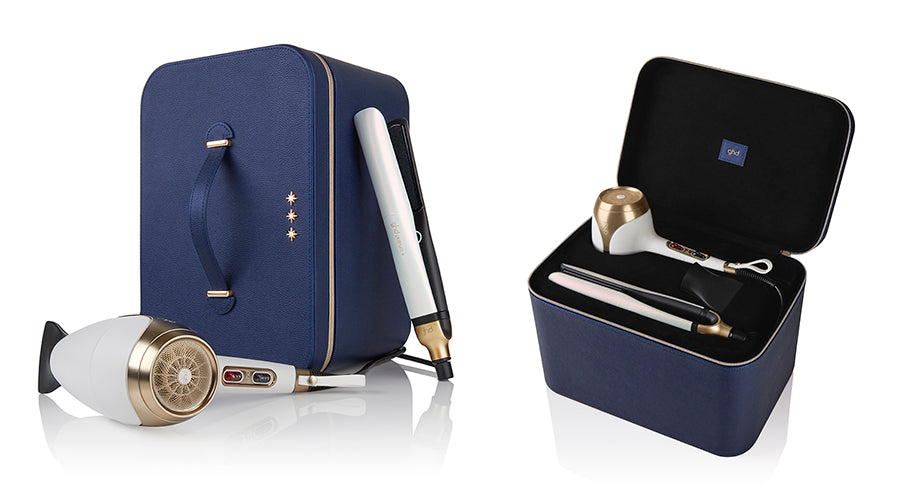 Price Attack GHD Deluxe Iridescent White Gift Set