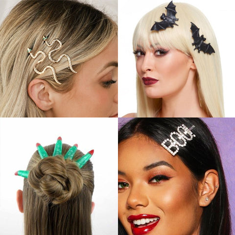 Spooky Hair Accessories for Halloween