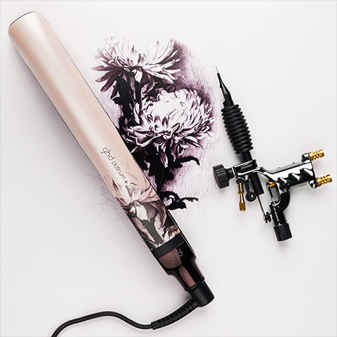 ghd limited edition ink on pink platinum+ hair straightener | Price Attack