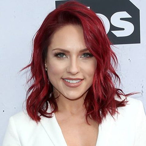 Popular shades of red hair, Sharna Burgess | Price Attack