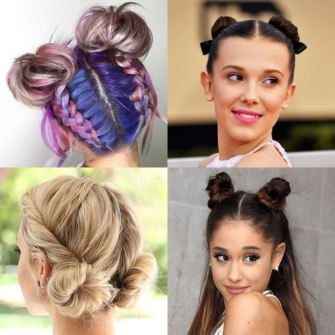 7 Easy and Cute Summer Hairstyles for 2019 | Space Buns | Price Attack