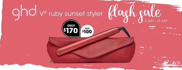 ghd ruby sunset flash sale