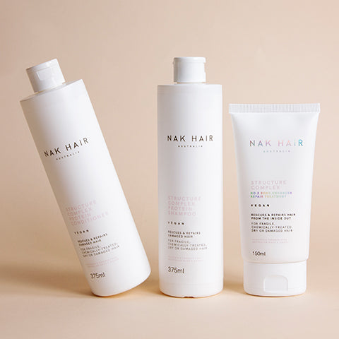 Nak Structure Complex Shampoo and Conditioner | Price Attack