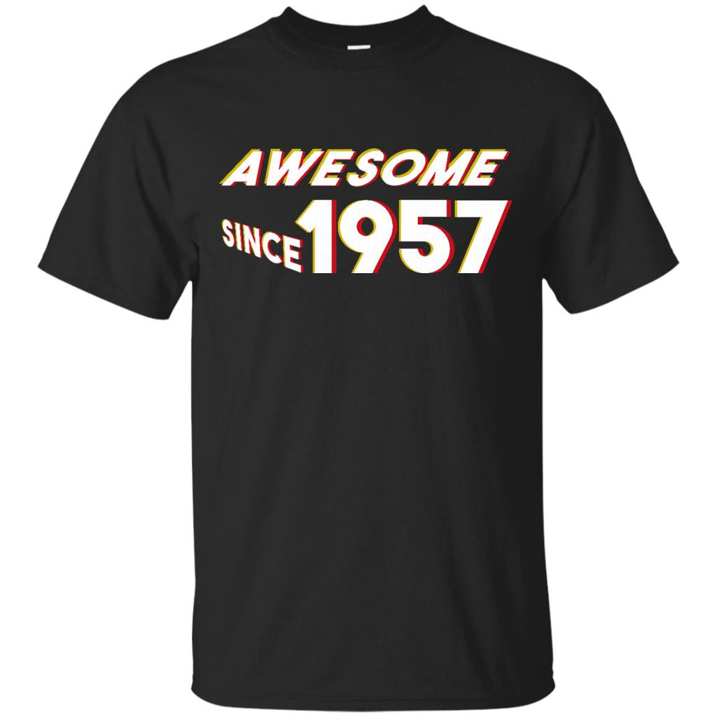 60th Birthday Gift T-Shirt Awesome Since 1957