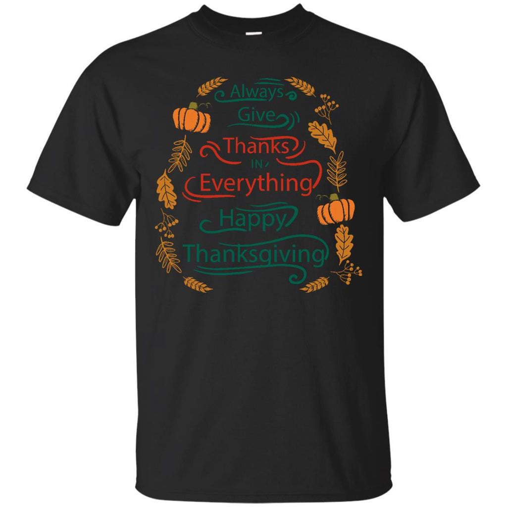 Always give thanks shirt