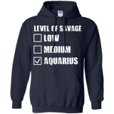 Aquarius Zodiac Tshirt Aquarius T Shirts For Men Women Aquarius Level