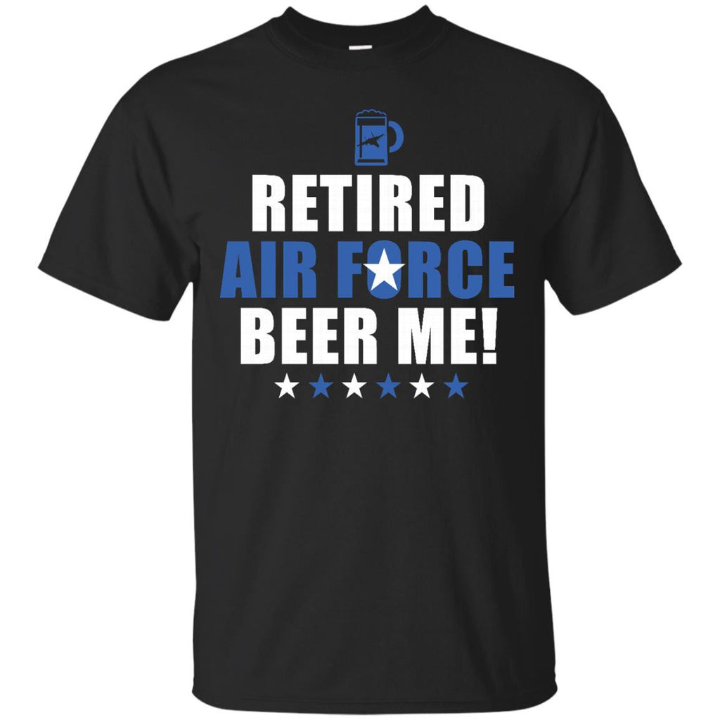 Retired Air Force Funny Air Force Retirement Tee