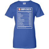 Aries Zodiac Tshirt Aries Facts Tshirt Aries Shirt For Girls