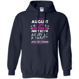 August Girl T-Shirt Funny Birthday Gifts August Birthday Shirts
