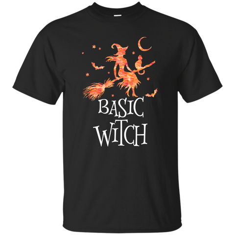 Basic Witch T-Shirt (Halloween Shirts For Women)