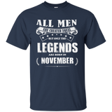 All Men Are Created Equal But The Best Are Born In November