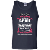 April Girl Shirt I Was Born With My Heart On My Sleeve